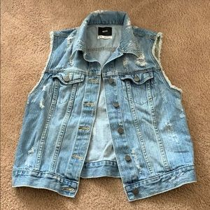 Urban Outfitters jean vest